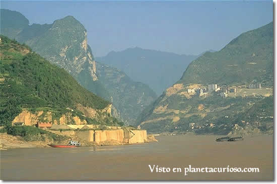 5 rio importantes china: