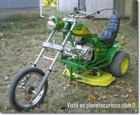 Helicoptero Lawnmower