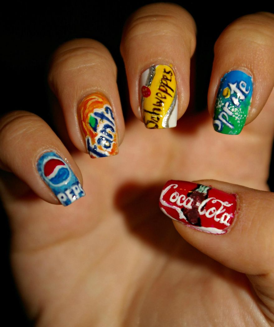 Crazy Cool Nail Designs